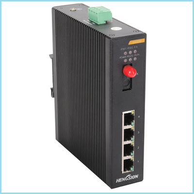 SFP ring 5 port managed gigabit switch rack , managed industrial ethernet switch 10Gbp